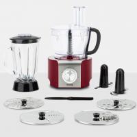 HKoenig MX18 Multifunktions-Küchenmaschine 1,5 L, 800 W, Rot