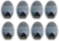 Selbstklebende Haken Handtuchhaken Klebehaken Wandhaken 12 x oval