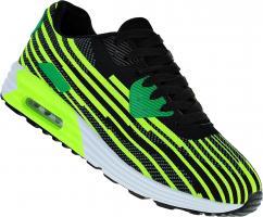 Art 118 Neon Turnschuhe Schuhe Sneaker Sportschuhe Luftpolstersohle Herren