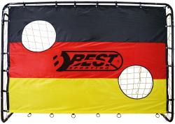 Best Sporting Fußballtor 213 x 152cm mit Netz und Torwand für Torwandschießen