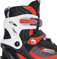 Best Sporting Schlittschuhe größenverstellbar, rot oder blau