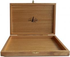Eichenholzbox für 6er Messerset hell