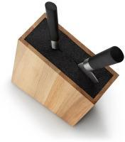 Messerblock mit flexiblem Einsatz Eiche