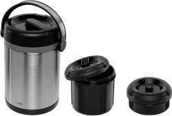 Emsa Mobility Isolier-Speisegef. edelstahl 1,7l schwarz/anthrazit
