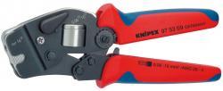 KNIPEX 975309SB Aderendhülsen-Presszange selbsteinstelle
