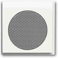 BUSCH JAEGER 8253-774 AudioWorld, Zentralscheibe für Einbau-Lautsprecher, Zentralscheibe für Einba