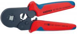 KNIPEX 975304SB Aderendhülsen-Presszange selbsteinstelle
