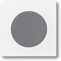 BUSCH JAEGER 8253-84 AudioWorld, Zentralscheibe für Einbau-Lautsprecher, Zentralscheibe für Einbau