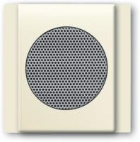 BUSCH JAEGER 8253-72 AudioWorld, Zentralscheibe für Einbau-Lautsprecher, Zentralscheibe für Einbau