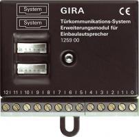 GIRA 125900 Erweiterungsmodul Einbaulautsprecher Türkommunikation
