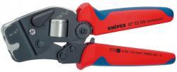 KNIPEX 975308SB Aderendhülsen-Presszange selbsteinstelle