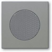BUSCH JAEGER 8253-803 AudioWorld, Zentralscheibe für Einbau-Lautsprecher, Zentralscheibe für Einba