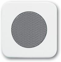 BUSCH JAEGER 8253-214 AudioWorld, Zentralscheibe für Einbau-Lautsprecher, Zentralscheibe für Einba
