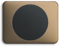 BUSCH JAEGER 8253-21 AudioWorld, Zentralscheibe für Einbau-Lautsprecher, Zentralscheibe für Einbau