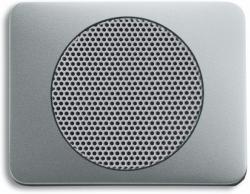 BUSCH JAEGER 8253-266 AudioWorld, Zentralscheibe für Einbau-Lautsprecher, Zentralscheibe für Einba