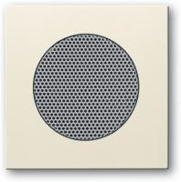 BUSCH JAEGER 8253-82 AudioWorld, Zentralscheibe für Einbau-Lautsprecher, Zentralscheibe für Einbau