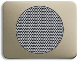 BUSCH JAEGER 8253-260 AudioWorld, Zentralscheibe für Einbau-Lautsprecher, Zentralscheibe für Einba