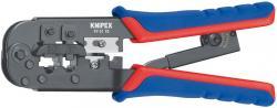 KNIPEX 975110SB Crimpzange für Westernstecker