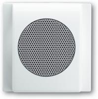 BUSCH JAEGER 8253-74 AudioWorld, Zentralscheibe für Einbau-Lautsprecher, Zentralscheibe für Einbau