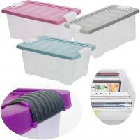 3x Stapelbox Allzweck-Kiste 30x20x15cm Transportbox Aufbewahrungsbox