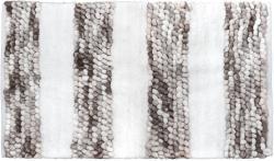 Badematte SOFT BALLS grau weiß weiche Duschmatte Badvorleger Duschvorleger
