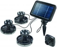 LED Solar Unterwasserstrahler Splash kaltweiss 6000 K