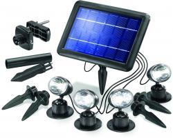 LED Solarspot Quattro Power kaltweiss 6000 K