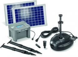 Solar-Pumpen-System Milano LED komplettes Set
