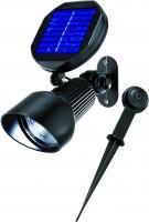 Solar LED Spotlight kaltweiss 6000 K