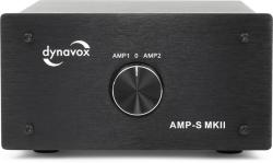 Dynavox Verstärker/Boxen-Umschalter schwarz Modell AMP-S MKII