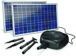 Solar-Bachlaufpumpenset Adria 2x25 W 3400 l/h