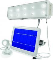 Solar LED Lichtsystem mit PIR kaltweiss 6500 K