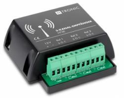 Funkempfänger HT3E 3-Kanal Frequenz 868.35 MHz