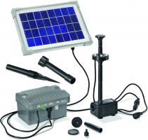 Solar-Pumpen-System Palermo LED komplettes Set