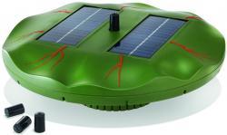 Schwimmende Solar-Teichpumpe Seerose