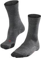 Falke Damen TK 2 Trekking Socken Outdoor Strümpfe asphalt grau Größe:37-38