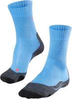 Falke Damen Trekking Socken Outdoor Strümpfe TK 2 blau-grau Größe:39-40