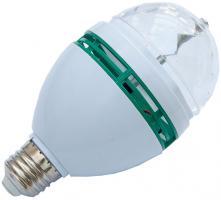 deelite LED RGB 3W Party Lichteffekt / Glühbirnen Lichteffekt E27 Sockel, farbig