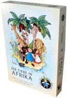 Brettspiel Die Tiere in Afrika - Spika Gesellschaftsspiel