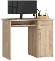 Schreibtisch Bürotisch Tisch A800 90x50x74 cm Sonoma
