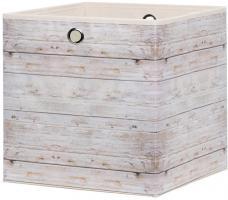 Faltbox Box City WOOD 2 - 32 x 32 cm
