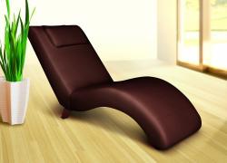 Relaxliege Liege - FARO / Braun - Liegesessel Sessel Wellnessliege