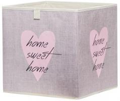 Faltbox Box - Delta -32 x 32 cm - Heart