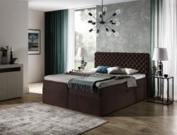 Boxspringbett Schlafzimmerbett WILLIAM 160x200cm in Stoff