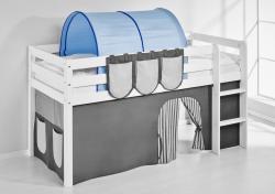Tunnel Blau - für Hochbett, Spielbett und Etagenbett