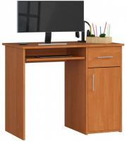 Schreibtisch Bürotisch Tisch A800 90x50x74 cm Erle