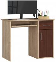 Schreibtisch Bürotisch Tisch A800 90x50x74 cm Sonoma-Wenge