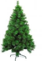 Künstlicher Wohaga Weihnachtsbaum 'Pine' 150/180cm künstlicher Tannenbaum inkl. Baumständer Kunststoff/Metall Grün