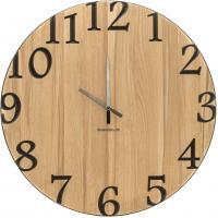 Wand-Uhr Holz 60cm Kernbuche Deutsche Herstellung klassisch Marke