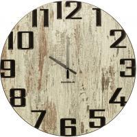 Wand-Uhr Holz 60cm Shabby Chic Deutsche Herstellung modern Marke